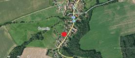 Prodej, stavební pozemek, 823 m2, Dnešice - Černotín