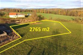 Prodej, stavební pozemek, 2765 m2, Červený Dvůr - Benešov