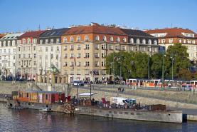 Pronájem, byt 3+1, 105 m2, Praha 2 - Nové Město