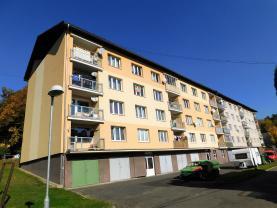Prodej, byt 1+kk, 23 m2, OV, Oloví, ul. náměstí Horní