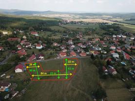 Prodej, pozemek 3773 m2, Drahlín