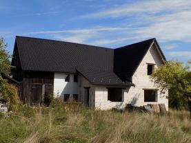 pohled na dům (Prodej, Rodinný dům, 1150 m2, Janov u Hřenska), foto 4/11
