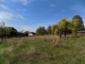 Prodej, Stavební parcela, 1100 m2, Janov u Hřenska