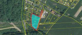 Prodej, pozemek 1265 m2, Němčičky, okr. Rokycany