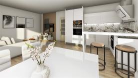 Prodej, byt 3+kk, 93 m2, Jince, ul. Zborovská