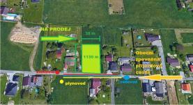 Prodej, stavební pozemek, 1130 m2, Dolní Lutyně