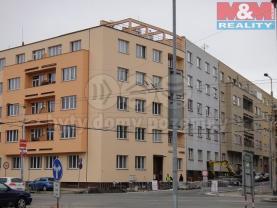 Pronájem, byt 2+1, Pardubice, ul. Sladkovského