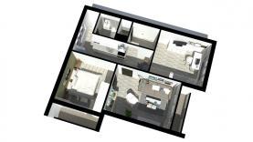 Prodej, byt 3+1, 65 m2, Tachov, ul. Bělojarská