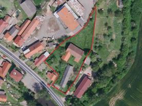 Prodej, stavební parcela, 3115 m2, Skvrňov