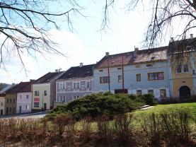 Prodej, nájemní dům, 588 m2, Žlutice, ul. Velké náměstí