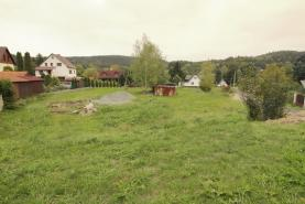 pohled na pozemek (Prodej, stavební pozemek, 2030 m2, Jablonné v Podještědí), foto 2/11
