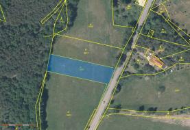 Prodej, pozemek, 2442 m2, Cvikov