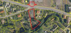 Prodej, stavební parcela 1834 m2, Bělá nad Radbuzou