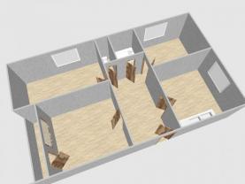 Prodej, byt 3+1 + garáž, 97 m2, Chříč