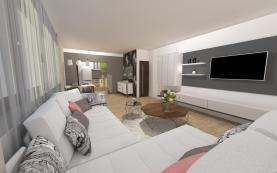 Prodej, byt 1+1, 35 m2, Praha 5 - Smíchov