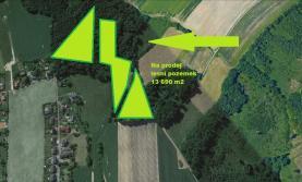 Prodej, les, 13 690 m2, Krmelín, ul. Bělská