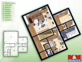 (Prodej, byt 3+1, 120 m2, Zbýšov), foto 2/21