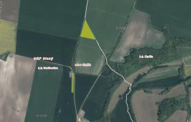 Prodej, pole, 14127 m2, Chržín
