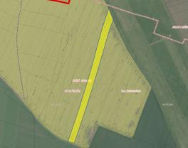 Prodej, pole, 18477 m2, Chržín