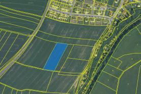 Prodej, orná půda, 5564 m2, Plzeň-Radobyčice