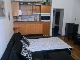 Prodej, byt 1+kk, 26 m2, Brno - Bystrc, ul. Černého