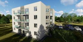 Prodej, byt 2+kk, Náchod, balkon