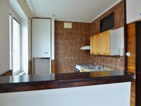 pohled na kuch. kout z obývacího pokoje (Prodej, byt 2+kk, 50 m2, DB, Roudnice nad Labem, ul. Čechová)