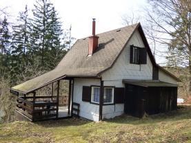 Prodej, chata 3+1, 32 m2, Pastviny