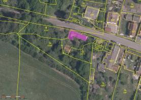 Prodej, stavební parcela, 493 m2, Nečtiny