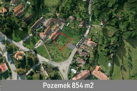 Prodej, stavební parcela, Kyšice, ul. Hrádecká