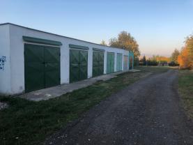 Pronájem, garáž, 40 m2, OV, Jirkov, ul. Za Pilou