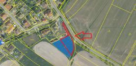Prodej, stavební parcela, 777 m2, Šťáhlavy, ul. Husova