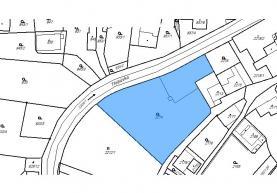 Prodej, stavební parcela, Moravská Třebová, ul. Vodní