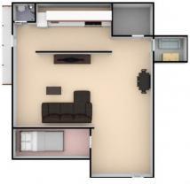 Pronájem, byt 3+kk, 65 m2, Mělník, ul. Dobrovského