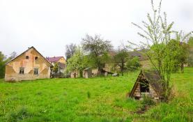 Prodej , chalupa, 6039 m2, Oselce-Kotouň