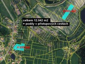 (Prodej, zemědělská usedlost, 12 042 m2, Oselce- Kotouň), foto 3/10