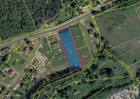 Prodej, stavební pozemek, 1158 m2, Habartov