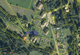 Prodej, pozemek, 389 m2, Zlatá Olešnice