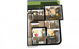 Pronájem, rodinný dům 3+1, 130 m2, Zlín