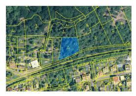 Prodej, stavební parcely 3925 m2, Krupka, ul.Libušín
