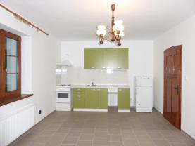 Pronájem, byt 1+1, 45 m2, Dalovice, ul. Nad Řekou
