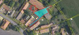 Prodej, stavební parcela, 468 m2, Hluboká u Žihle