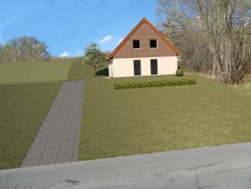 Prodej, stavební parcela,1445 m2, Jeseník, ul. Za Pilou
