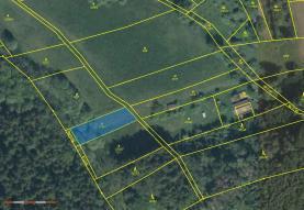 Prodej, pozemek, 917 m2, Rovensko pod Troskami - Křečovice