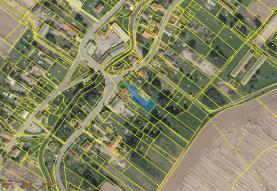 Prodej, pozemek, 1411 m2, Třebom
