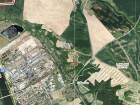 Mapy cz 1.1 (Prodej, zahrada, 450 m², Štětí), foto 4/14