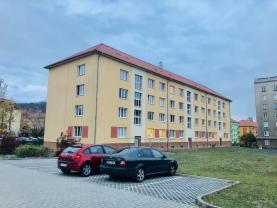 Pronájem, byt 1+1, 40 m2, OV, Most, ul. W. A. Mozarta