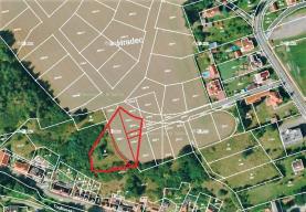 Prodej, stavební parcela, 2873 m2, Hradec u Stoda