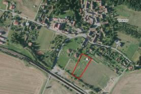 Prodej, stavební pozemek 3880 m2, Vranov u Stříbra