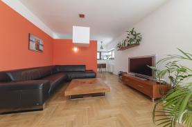 Obývací pokoj (Prodej, byt 3+kk, 120 m2, Praha 9, ul. Lucinková), foto 2/18
